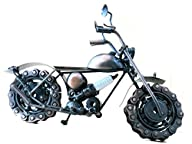 Steampunk Metal Motorcycle Sculpture…