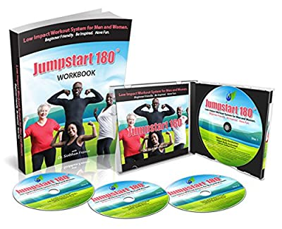 Workout Videos for Seniors - Beginner Friendly Low Impact Exercise Routines for Arms, Legs and Core Strength, Balance, Range of Motion, Flexibility, Heart Health, & Bone Health. Complete 8 Week System Can Be Used For Physical Therapy Rehab and Pain Relief