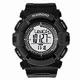 SUNROAD 3気圧防水 高精度デジタルセンサー 腕時計 [並行輸入品]