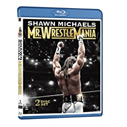 Shawn Michaels: Mr. WrestleMania [Blu-ray]