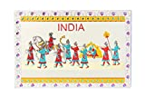 Adaa Indian Traditional designed fridge magnet