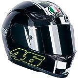 AGV K3 Celebr8 Valentino Rossi Helmet Color: Black Size: Xxl