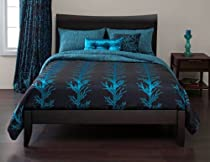 Big Sale SIS Covers Whistle Creek 6-Piece Duvet Set, California King, Turquoise