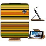Liili Premium Motorola Google Nexus 6 Flip Pu Leather Wallet Case Abstract striped digital bright background Photo 20953567 Simple Snap Carrying