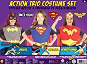 DC Comics Girls Trio Action Set Dress Up Trunk