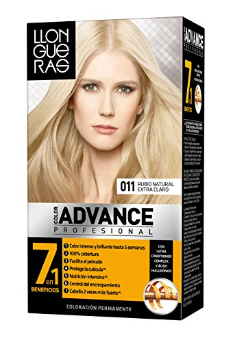 Llongueras Tintura per Capelli, Color Advance Hair Colour, 200 gr, 11-Nat Ext Light Blond
