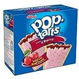 KELLOGGS 12 TOASTER PASTRIES CHERRY POP TARTS-624g BOX