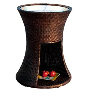 Best Selling Woodbury Wicker Beverage Caddy by Best Furniture