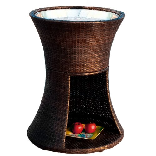 Best Selling Woodbury Wicker Beverage Caddy picture
