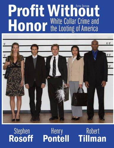 White Collar Crime,