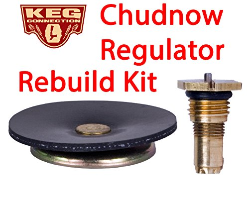 chudnow regulator rebuild kit by kegconnection sporting goods water sports sc. Black Bedroom Furniture Sets. Home Design Ideas