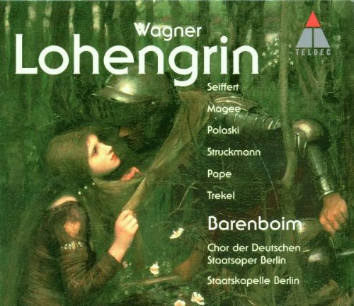 Wagner: Lohengrin / Seiffert, Maggie, Polaski, Struckmann, Pape, Trekel, Barenboim (Wagner Leinsdorf compare prices)