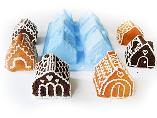 how to make chocolate house without molds