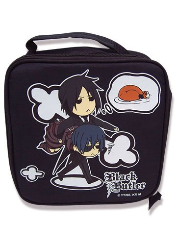 Black Butler Character Lunch Bag - 1