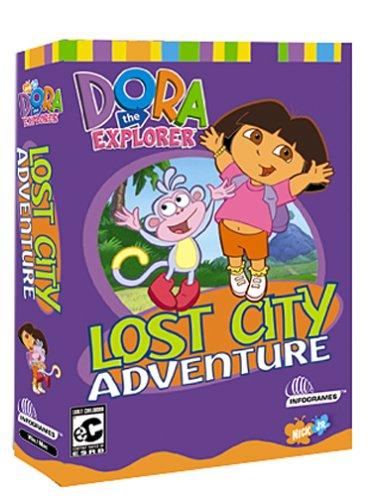 Dora the Explorer Lost City Adventure - PC MacB00006G9PX
