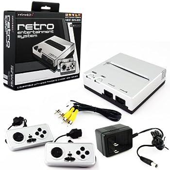 Retro Bit Nintendo NES Entertainment System (Silver/Black) from Retro Bit