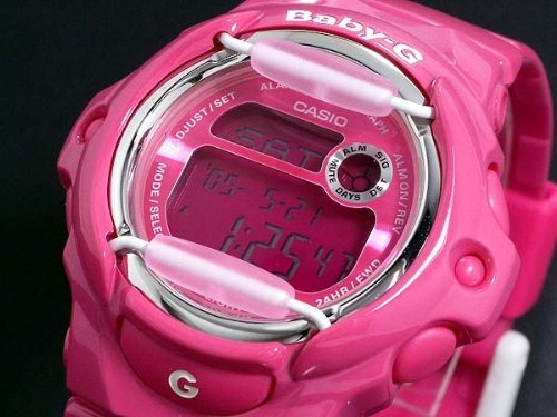 Casio- Baby-G Watch Bg169R-4B Wrist Watch (Wristwatch)
