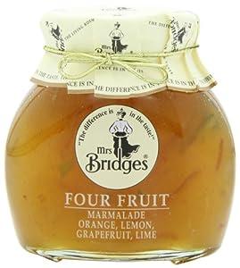 Mrs. Bridges Marmalade, Four Fruit, 12 Ounce