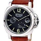 [ジャーマニーマリーナミリターレ]GERMANY MARINA MILITARE ドイツ製腕時計 パワーリザーブ自動巻 MM-121S4AL(並行輸入品) (ブラウン)