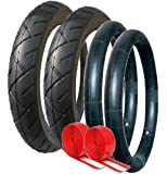 GENUINE QUINNY BUZZ TYRE AND TUBE SET 12 1/2 X 2.1/4 (57-203) WITH ADDED PUNCTURE PROTECTION
