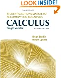 Student Solutions Manual for Jon Rogawski's Calculus Single Variable