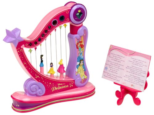 Disney 'Princess' Music & Magic Dance'n Spin Harp