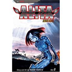 Battle Angel Alita, Vol. 8: Fallen Angel by Yukito Kishiro