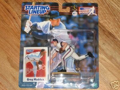 Greg Maddux 2000 Starting Lineup Collectible by Sports