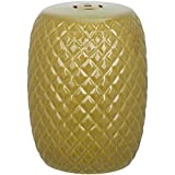 Calla Spring Green Patio Stool