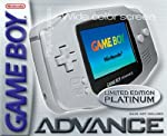 Gameboy Advance Konsole Platin