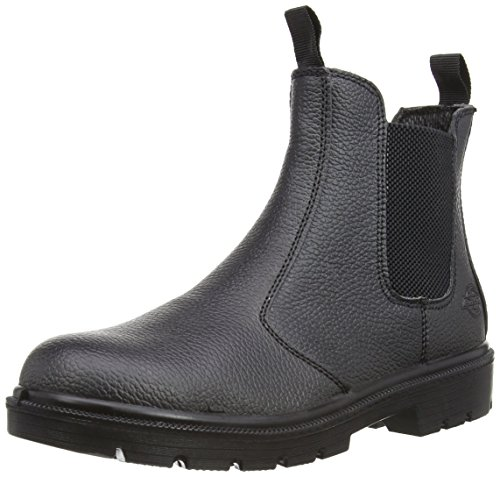 Dickies, Scarpe antinfortunistiche uomo Nero nero 39.5, Nero (nero), 45 (11 UK)