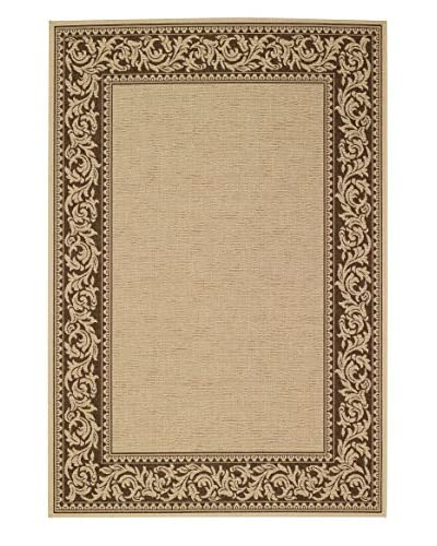Capel Rugs Elsinore Scroll Rectangle Machine Woven Indoor/Outdoor Rug