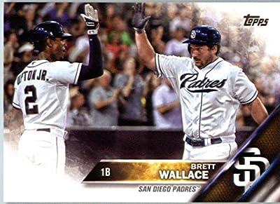 2016 Topps Series 2 #415 Brett Wallace San Diego Padres Baseball Card-MINT