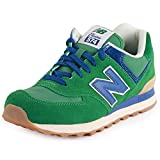 Womens New Balance 574 Classic Running Shoes In Green Style And Performance