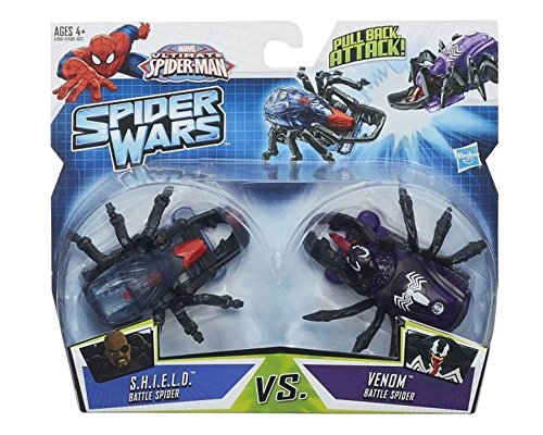 Ultimate Spider-Man Spider Wars Battle Pack: S.H.I.E.L.D. vs Venom