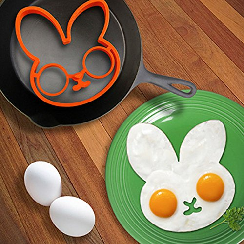 Hot 1pc Slicone Egg White Rabbit Egg Shaper Moulds Egg Ring Silicone Mould Cooking Tools Kitchen Accessories (Kitchenaid Toaster Oven White compare prices)