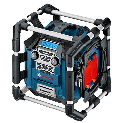 Bosch-Professional-GML-20-Akku-Baustellenradio-20-Watt-Nennleistung-USB-SD-2x-Aux-In-Aux-Out-12-V-Steckdose