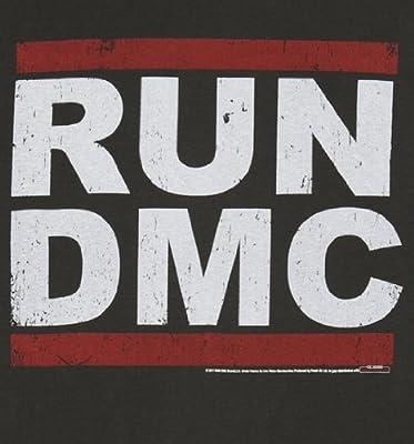 Klassisches Run DMC Logo Damen T Shirt von Amplified