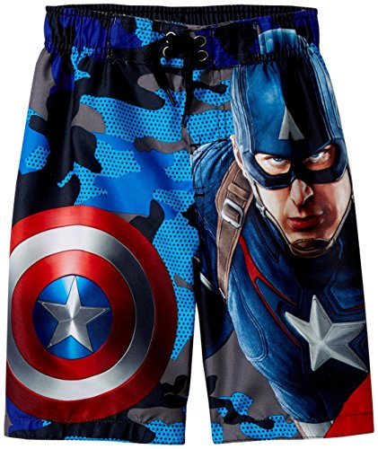 Marvel Captain America Swim Trunk