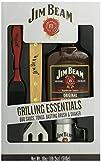Jim Beam Grilling Essentials  Sauce Tongs Basting Brush   Shaker