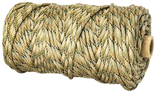 TOUGH-GRID 750lb Mixed Camo Paracord / Parachute Cord - Genuine Mil Spec Type IV 750lb Paracord Used by the US