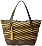 Cole Haan Parker Weave Small Zip Top Shopper Travel Tote