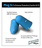HEAROS Earplugs - Xtreme Ear Protection Series 100 Pair - #1 Recommended Ear Protection by Professionals & Physicians- Made in USA - Highest Rated NRR33