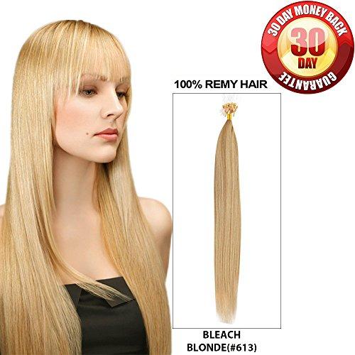 Micro Bead Hair Extensions by BELLAHAIR Micro Loop Link Hair(100 strands 40g 16