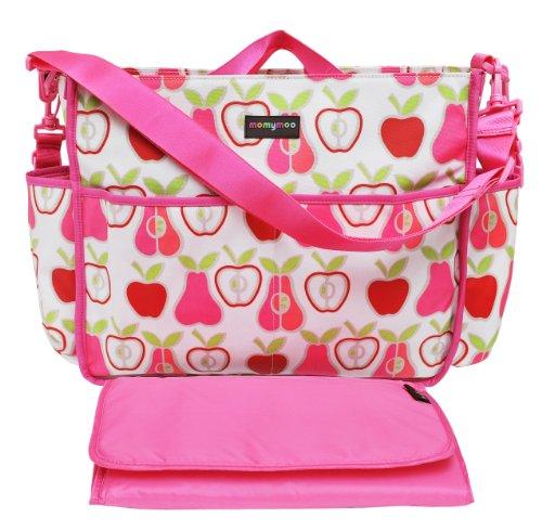 Momymoo Premium Lulu Baby Changing Bag (Apple Pear)