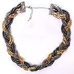 Metal Braid Necklace