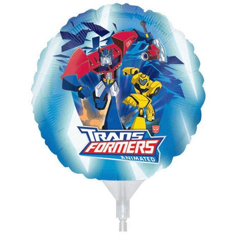 9 Inch Transformers EZ Air Fill Balloons - 3 Count