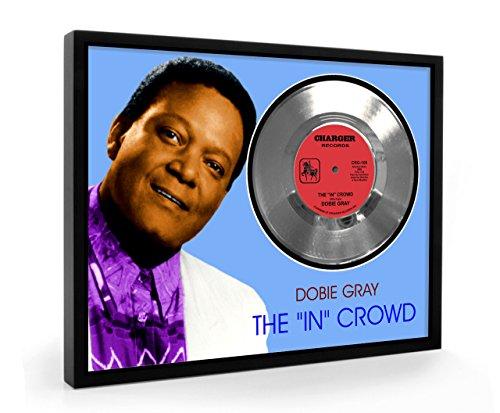 Dobie Gray The In Crowd Framed Disco d'argento Display Vinyl (C1)