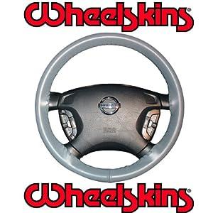 2002-06 Jeep Liberty Original Genuine Leather Steering Wheel Cover - Black