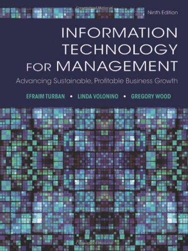 Information Technology for Management: Advancing